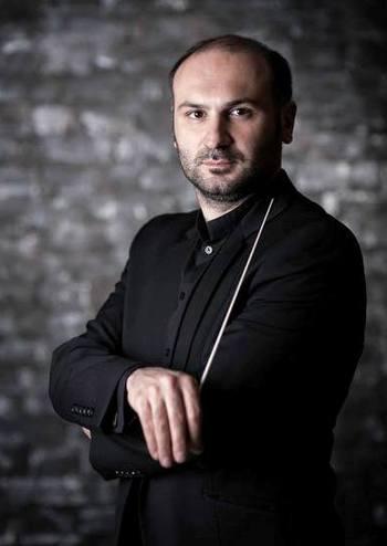 Нова українськ музика. Диригент – Міхеїл Менабде